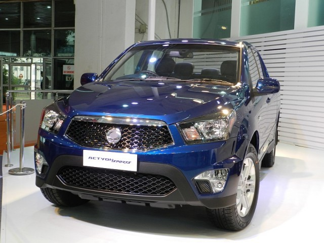 Ssangyong actyon sport 2013 фото