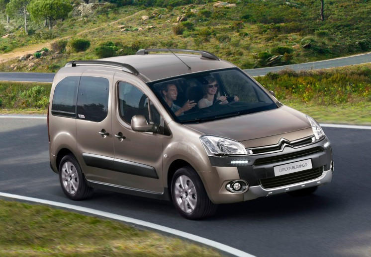 Citroen Berlingo Multispace 2012, первые фото