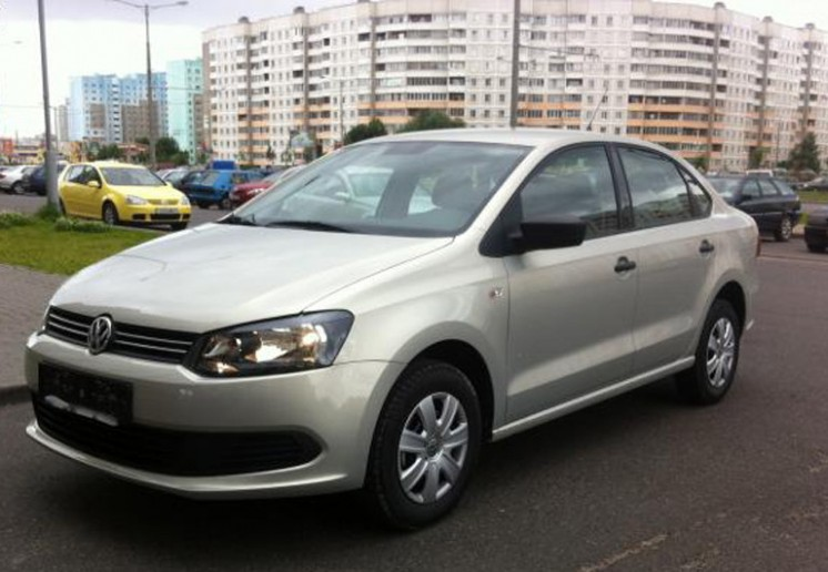 Фото Volkswagen Polo Sedan 1.6L 5MT (2011 г.в. 25000 км)