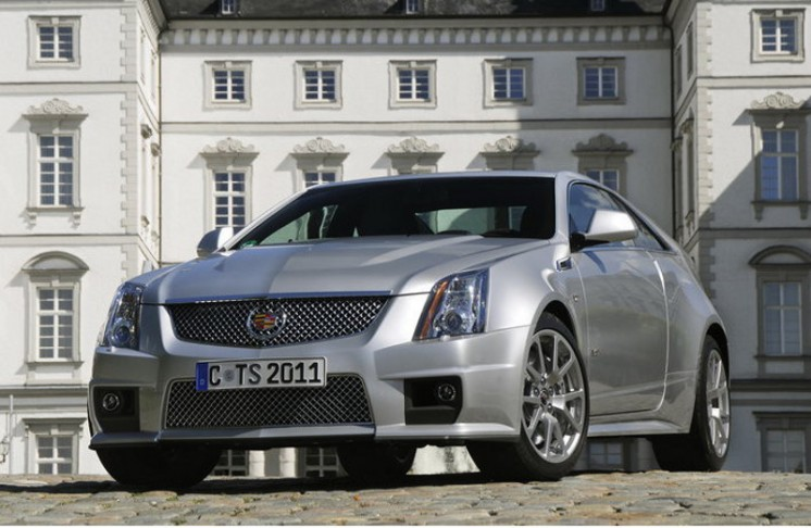 Cadillac CTS-V Coupe 2013