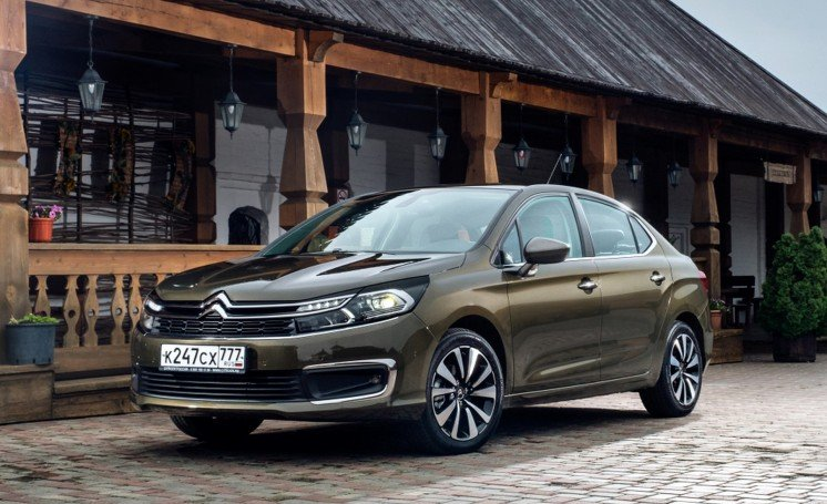 Citroen C4 sedan pokolenie 2017 photo 1