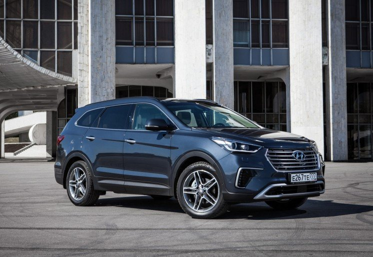 Hyundai Grand Santa Fe 2017 Photo 1