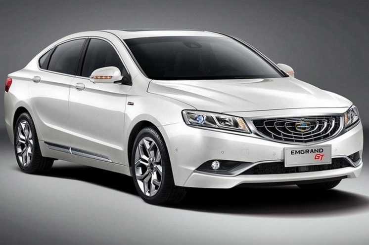 Geely Emgrand GT 2018. Photo 1