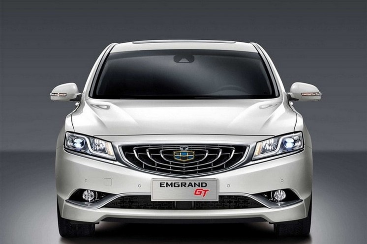 Geely Emgrand GT 2018. Photo 2