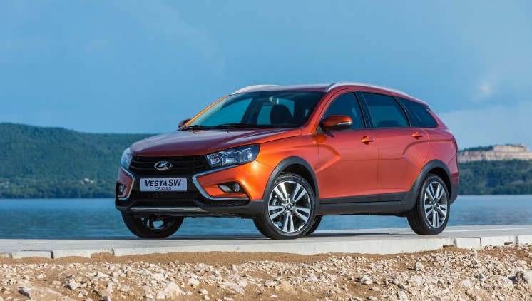 Lada Vesta SW Cross, photo 1