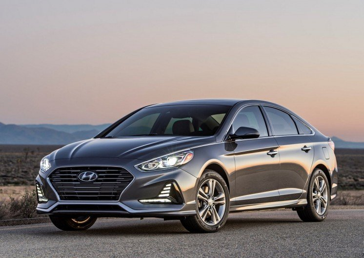 Hyundai Sonata 2018, photo 1