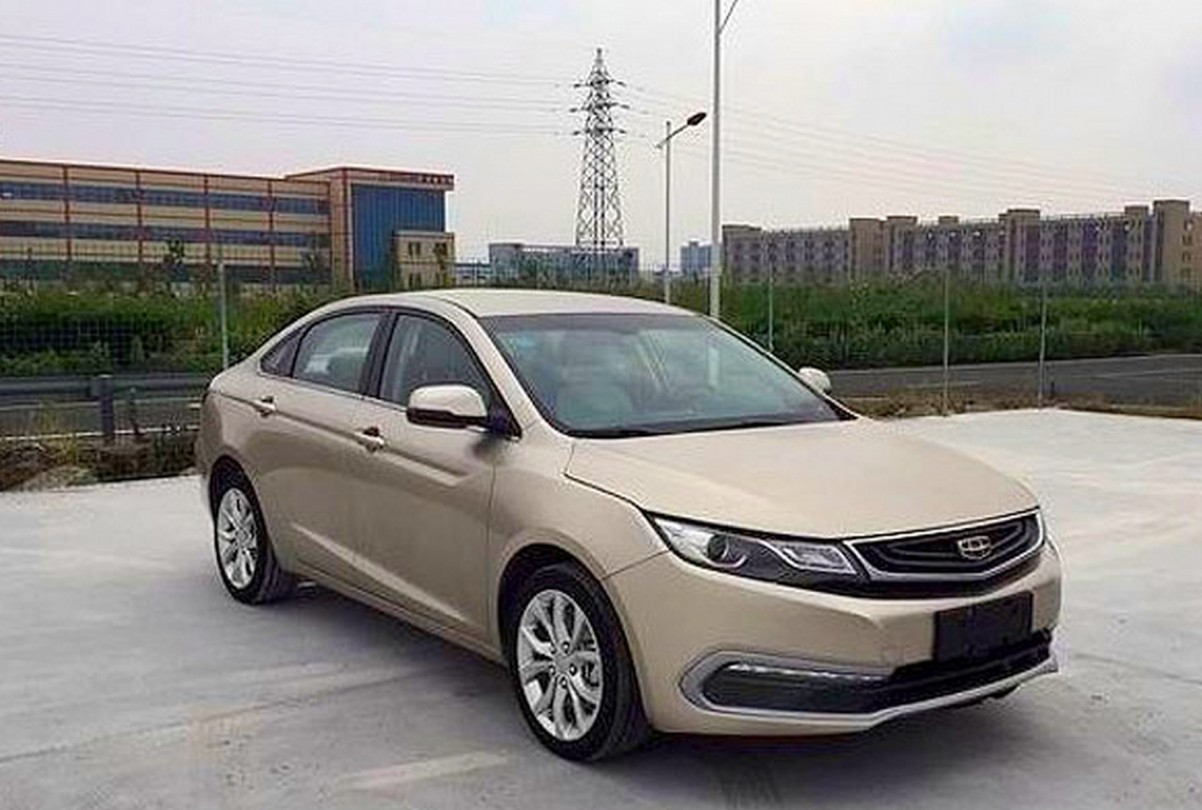 Geely Emgrand 2017 - фото 2