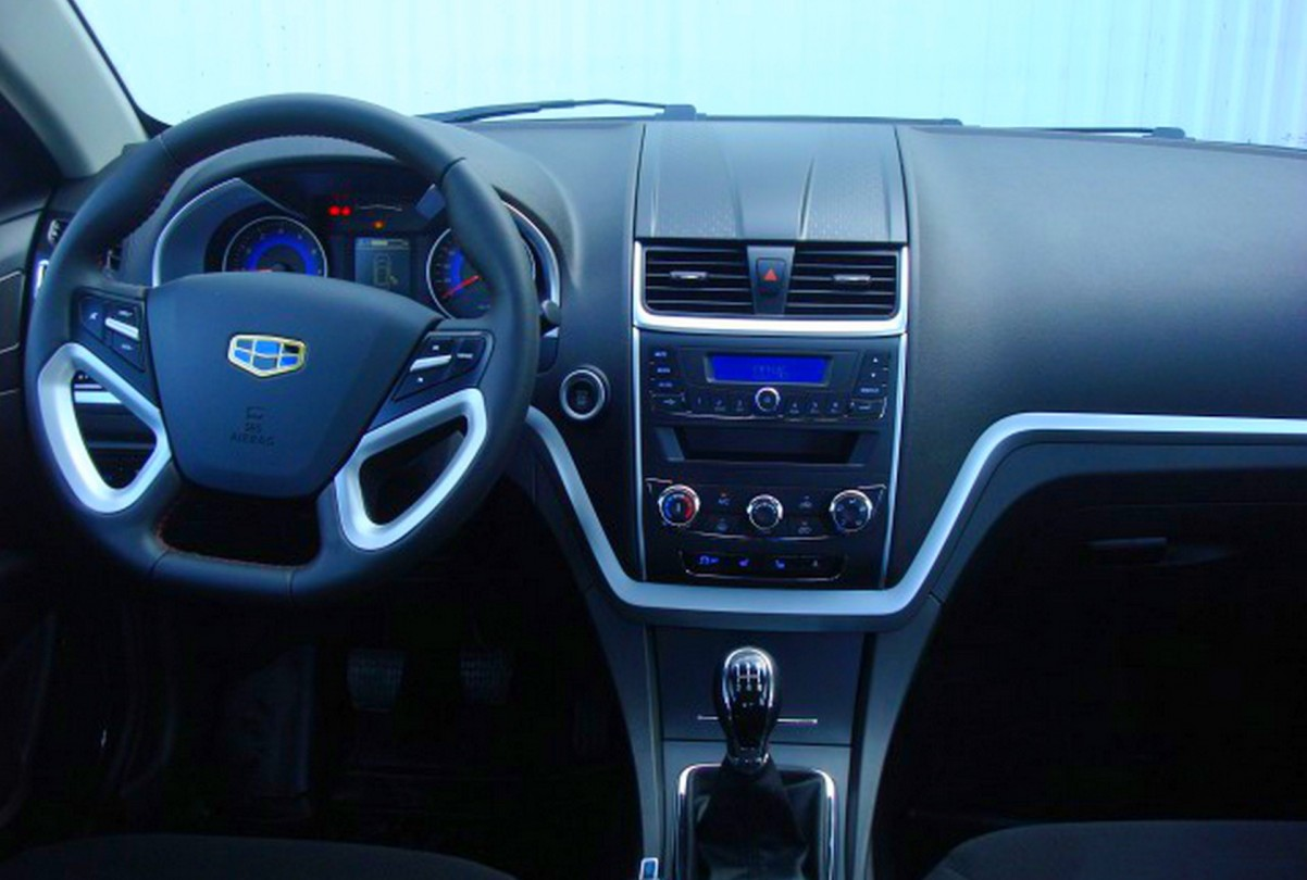 Geely Emgrand 2017 - фото 5