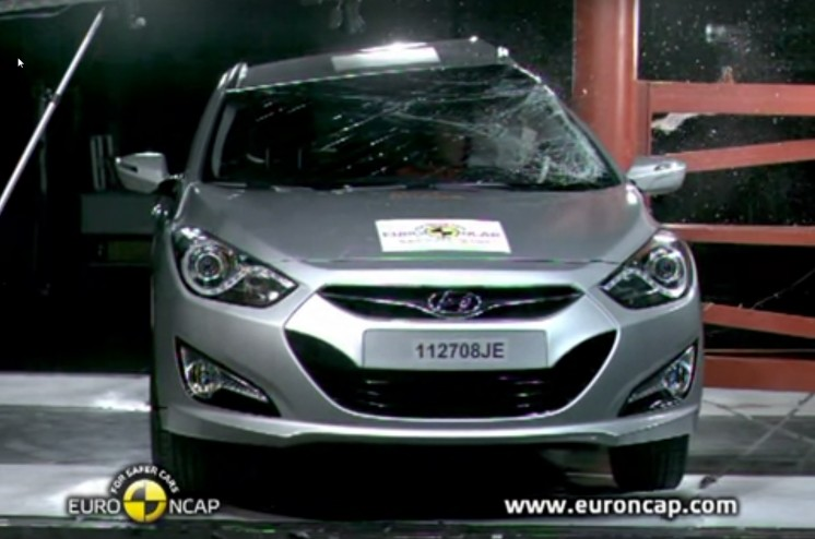 Crash Test Hyundai i40 2015-2016 года