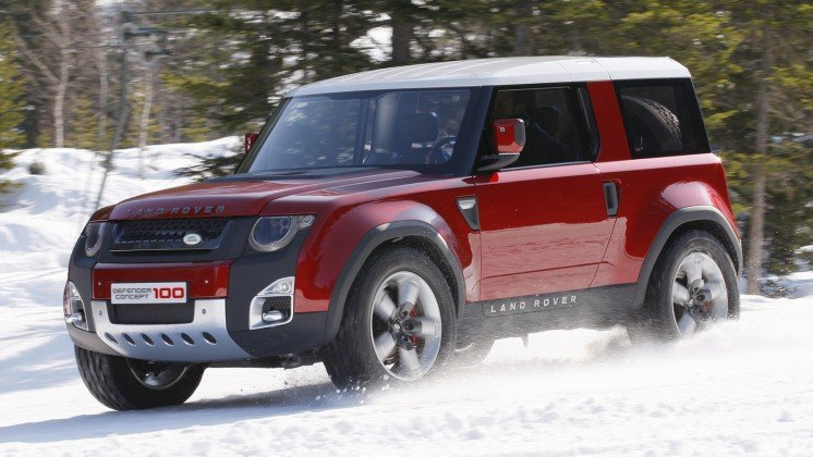 Land Rover Defender D90 2019