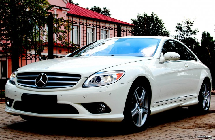 Mercedes-Benz CL 550 AMG 2008-го года
